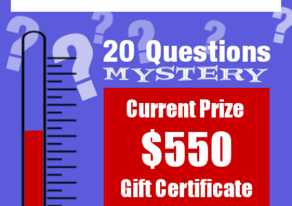 20 Questions Mystery - Round 10