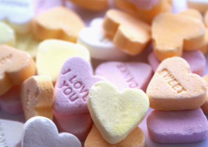 Fun with Conversation Hearts