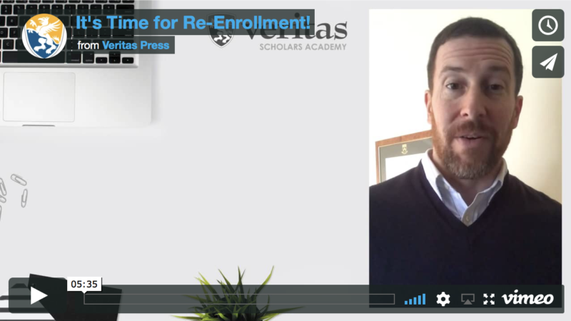 It's Time for Re-Enrollment!