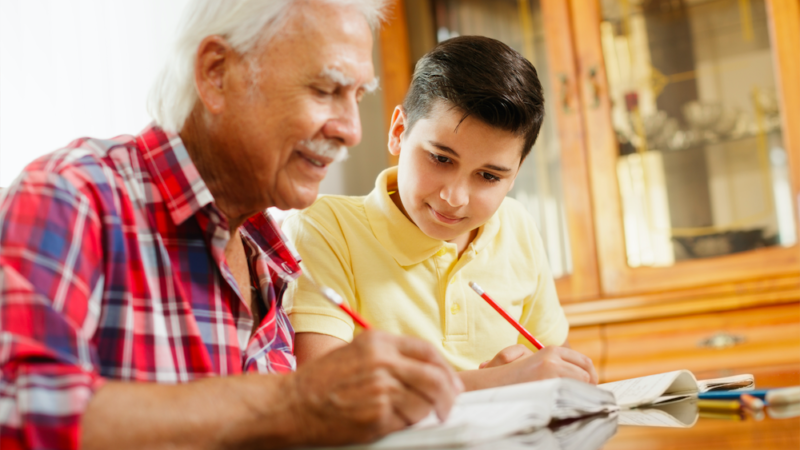 How Grandparents Can Be Involved in Education