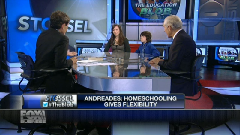 VSA Student Interviewed on Fox Business