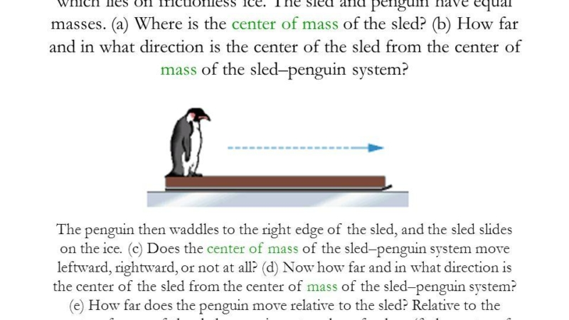 Penguins, Pringles, and Physics