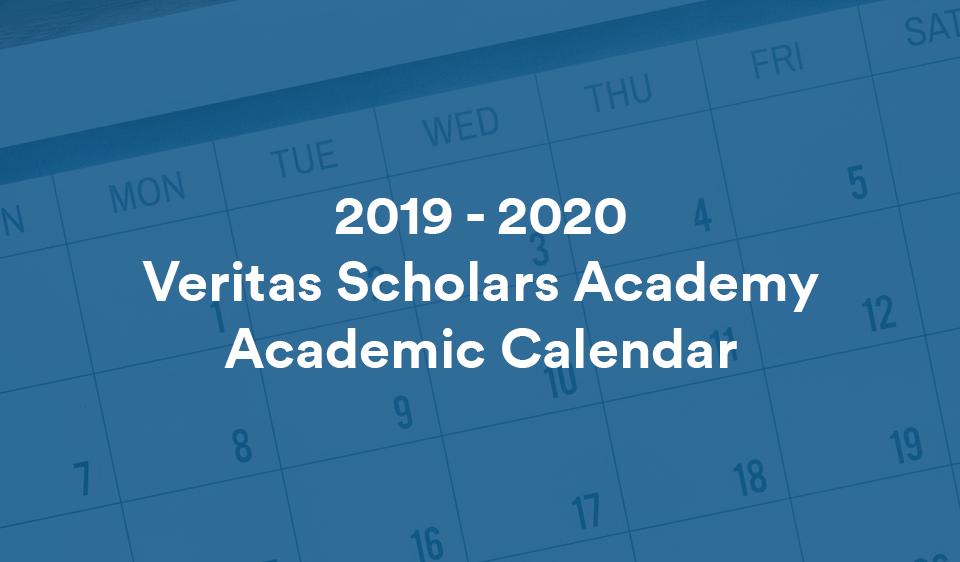 Towson Academic Calendar 2020 Veritas Press   Academic Calendar