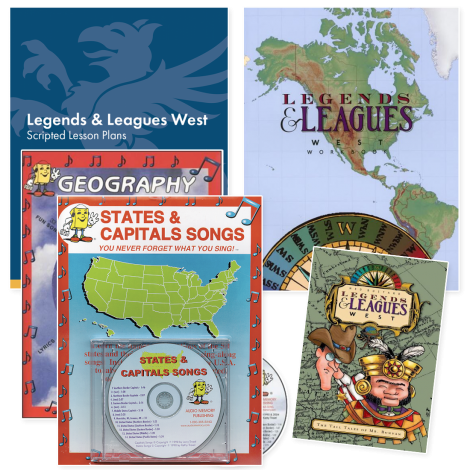 Geography West | Live Course Kit | Veritas Press
