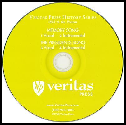 1815 to the Present Memory Song CD | Veritas Press