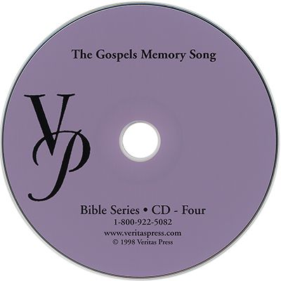 The Gospels Memory Song CD | Veritas Press
