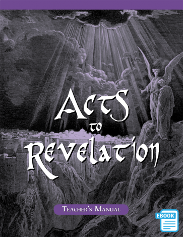 Acts to Revelation Teacher's Manual   eBook