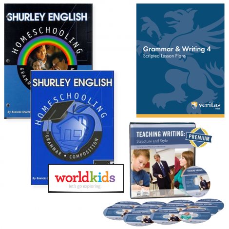 Grammar & Writing 4 | You Teach Kit | Veritas Press