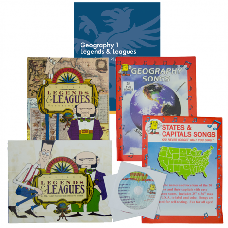 Geography 1 - You Teach Kit | Veritas Press