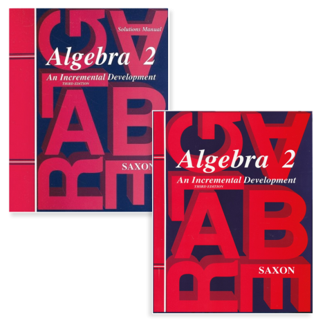 Algebra II - Saxon - Live Course Kit | Veritas Press