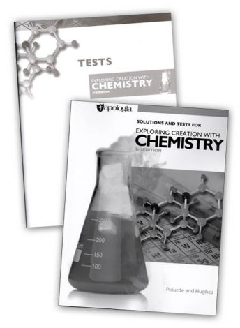 Exploring Creation with Chemistry Solutions and Tests 3rd ed.