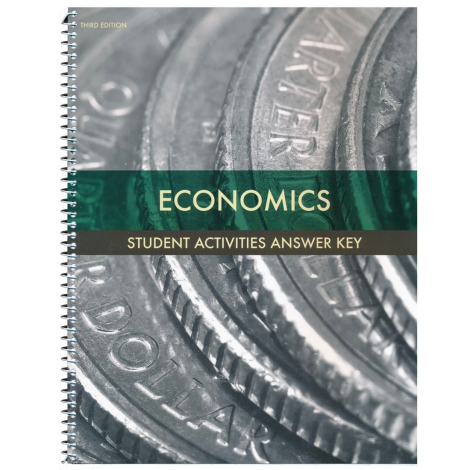 Economics Student Activities Answer Key (3rd Ed.)