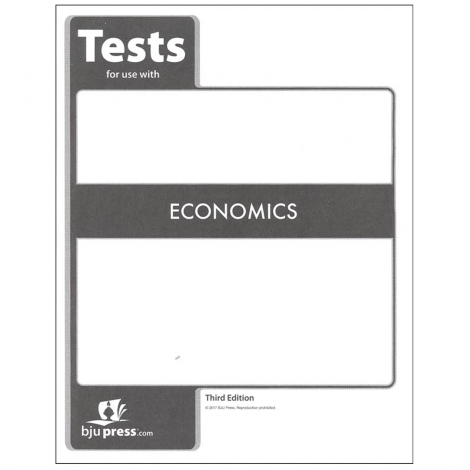 Economics Tests (1 student, 3rd Ed.)