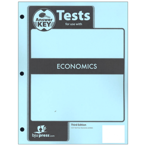 Economics Tests Answer Key (3rd Ed.)