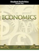 Economics Student Activities Answer Key 2nd Ed. | Veritas Press