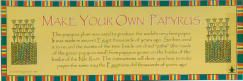 Make Your Own Papyrus