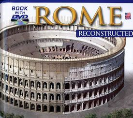 Rome Reconstructed Book with DVD
