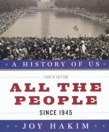 A History of US: Book 10: All the People: Since 1945