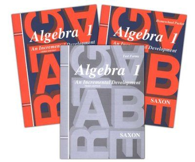 Saxon Algebra 1 Home Study Kit, 3rd Ed. | Veritas Press