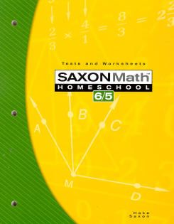 Saxon 65 Tests and Worksheets 3rd Edition