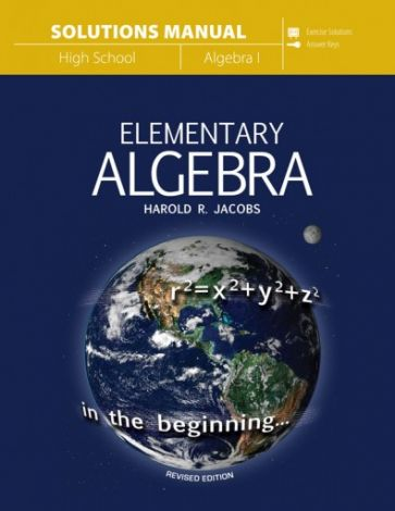 Elementary Algebra Solutions Manual | Veritas Press