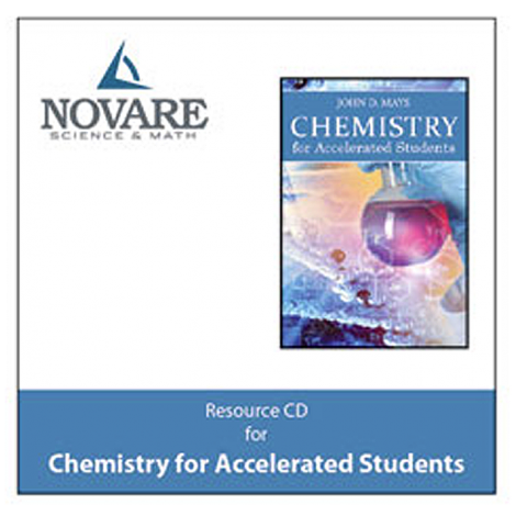 Novare Accelerated Chemistry Resource CD