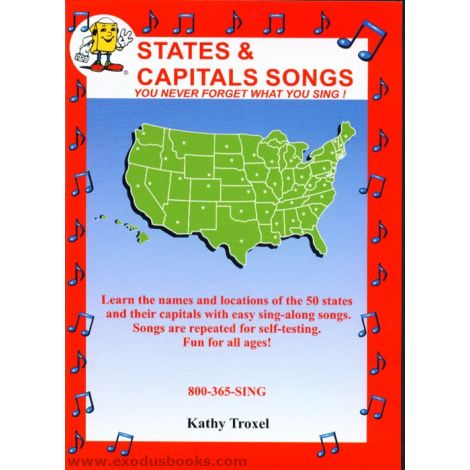 States & Capitals Songs DVD