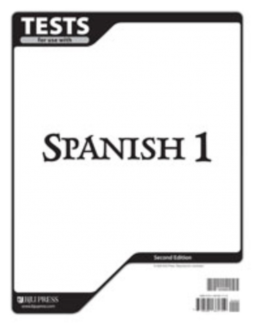 Spanish I Tests (2nd Ed.)