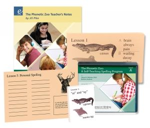 Excellence in Spelling: The Phonetic Zoo Spelling Starter Kit, Level A
