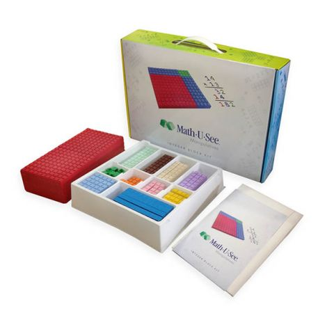 Math-U-See Integer Block Kit | Veritas Press