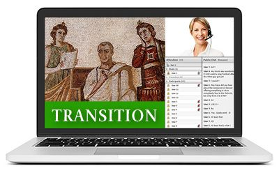 Latin Transition II - Summer B - Live Online Course 2017-2018