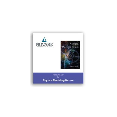 Novare Physics Modeling Nature Resource CD