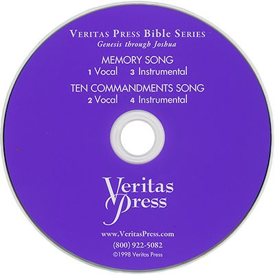Genesis to Joshua Memory Song CD