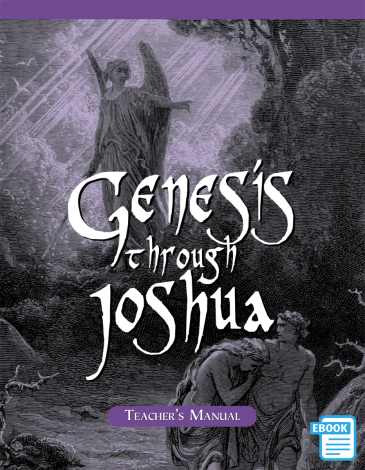 Genesis To Joshua Teacher's Manual (eBook)