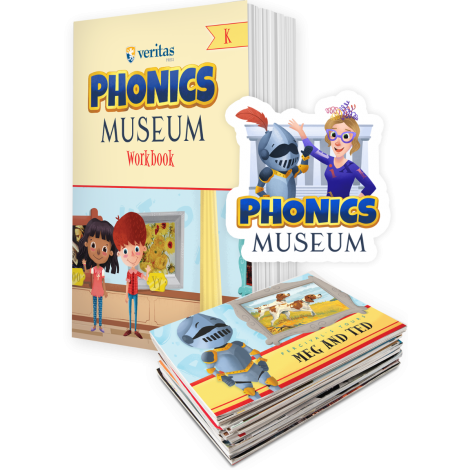 Phonics Museum | K Kit - Workbook & Primers | Veritas Press