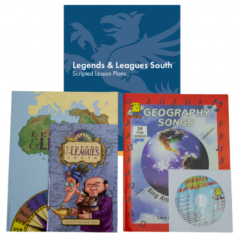 Geography South | You Teach Kit | Veritas Press