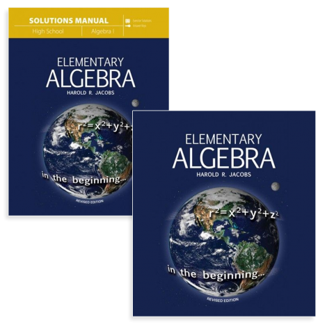 Algebra I - Live Course Kit
