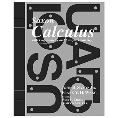 Calculus I Saxon | Live Course & You Teach Kit | Veritas Press