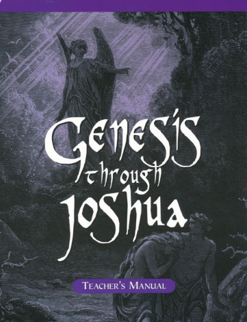 Genesis to Joshua Teacher Manual Homeschool