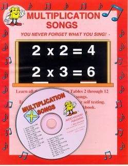 Multiplication Songs CD