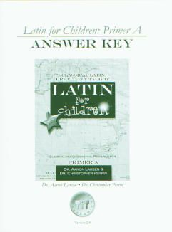 Latin for Children A Ans Key