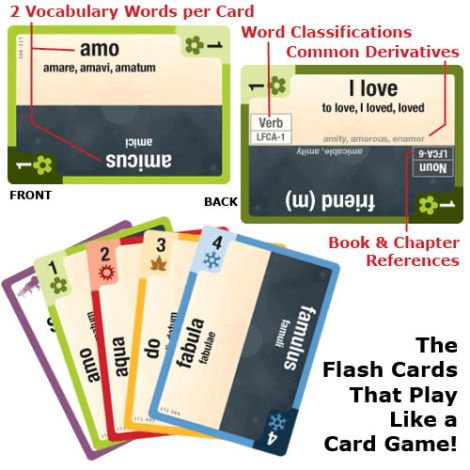 Latin for Children B Clash Cards