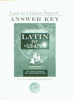 Latin for Children C Ans Key