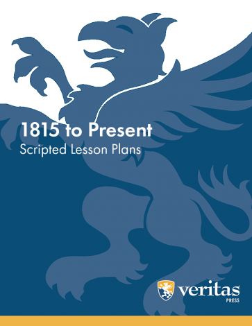 History - 1815 to Present - Lesson Plans