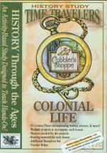Time Travelers History Study: Colonial Life, CD