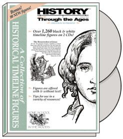 History Through the Ages: Historical Timeline Figures Collection, CD