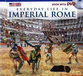 Everyday Life in Imperial Rome, Book in English with DVD