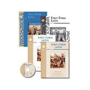 First Form Latin Set plus DVD's and Flashcards