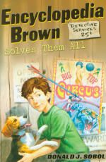 Encyclopedia Brown: Everyone's Favorite Boy Detective, Solves Them All