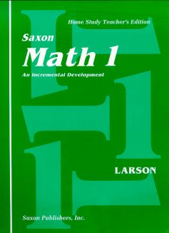 Saxon 1 Home Study Kit | Veritas Press